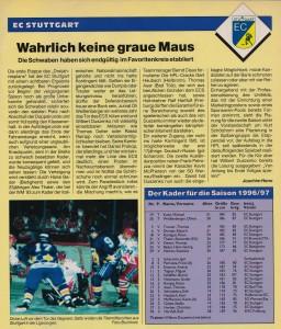 Eishockey News Sonderheft DEB-Ligen 96-97